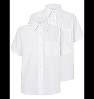 Белая рубашка George для мальчика в школу, 7 лет