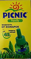 Жидкость от комаров Piknik Family 45 ночей