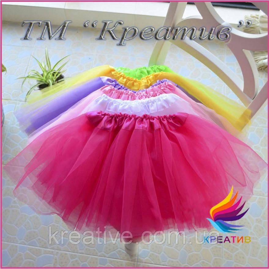 Детские юбки пачки для занятия спортом под заказ (от 50 шт.)