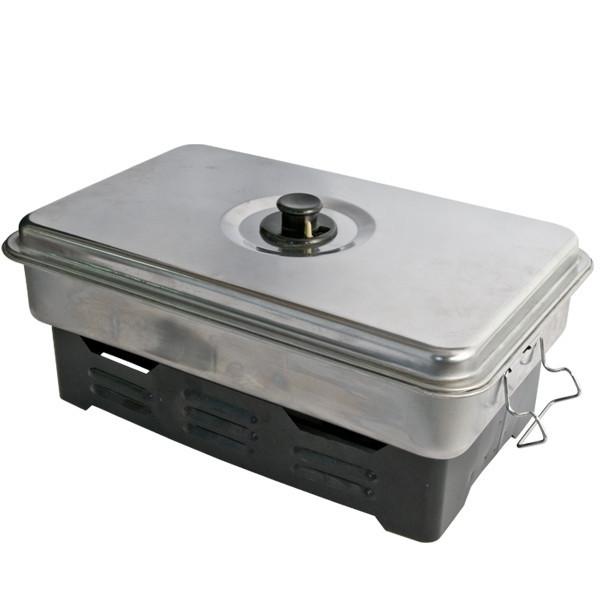 Коптилка для рыбы Energofish EnergoTeam Outdoor Fish Smoker на спиртовках (74928000) - Cralusso в Ужгороде