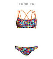 Раздельный купальник для девочек Funkita Stacked Up FS33, фото 1