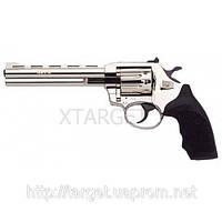 Револьвер флобера Alfa мод 461 6 никель пластик 4 мм