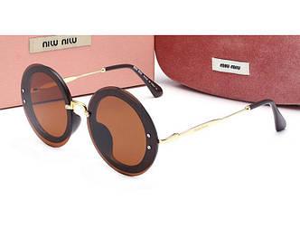 Солнцезащитные очки Miu Miu (5922) brown SR-557