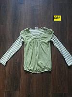 Кофта трикотажная с длинным рукавом для девочки