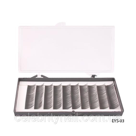 Ресницы шелковые (12 мм) EYS-03