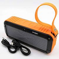 Беспроводная Bluetooth колонка W-KING S-20 IPX6 (оранжевая)