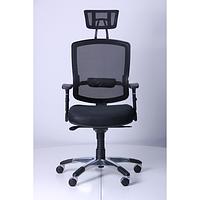 Кресло Коннект HR Сетка черная (AMF-ТМ)