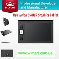 Графические планшеты Huion DWH69.