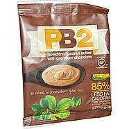 Арахисовое масло шоколадное PB2 сухое (порошок) обезжиренное, фото 2