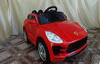Лицензионный детский электромобиль  Porsche Style TL 5988 красный***