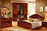 Спальня Примула 4 дв. вишня бюзум