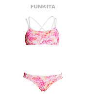 СКИДКА! Раздельный купальник для девочек Funkita Feather Fire FS33