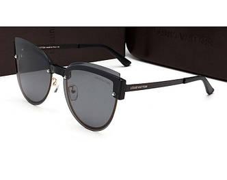 Женские солнцезащитные очки Louis Vuitton (16434) black SR-563