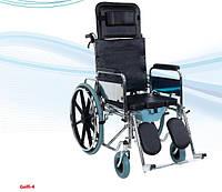 Инвалидная коляска многофункциональная с санитарным оснащением без двигателя Golfi-4 (Турция)