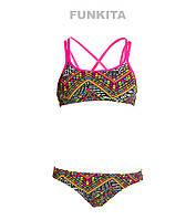 Раздельный купальник для девочек Funkita Wild Fire FS33