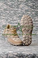 Кроссовки летние облегченные ПУ песок, ткань ЗСУ, фото 1
