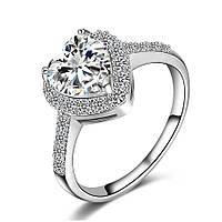 Кольцо покрытие серебро ювелирная бижутерия 726