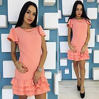 Платье с украшением 062