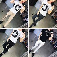 Модные женские брюки Dolce & Gabbana / Украина / трикотаж