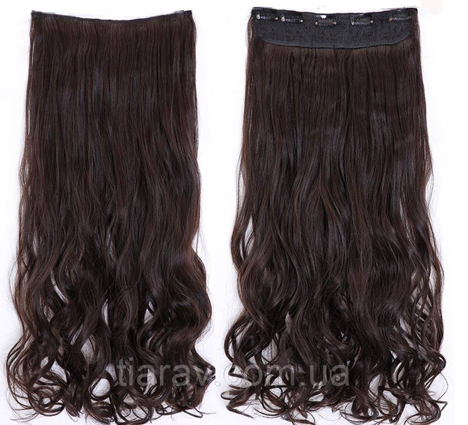 Волосы на заколках волнистые 60 см , трессы, накладне волосся, Тиара Виктория