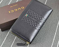 Мужской кошелек Gucci (3018) black