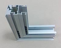 Дверное полотно из алюминиевого профиля для систем дверей скрытого монтажа