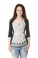 Женская трикотажная блуза СopCopin