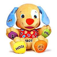 Интерактивная игрушка Умный Щенок Fisher-Price на украинском языке, BGY28