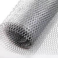 Сітка просічно-витяжна оцинк. 1м*10м (яч. 17*40) під штукатурку 0,6 мм
