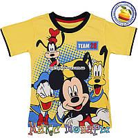 Футболка с героями мультфильмов для мальчика от 5 до 8 лет (5340-2)