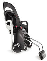 Велокресло детское HAMAX Caress на раму серое/чёрное