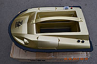 Радиоуправляемый прикормочный кораблик CarpHunter 3в1 золотой (Новинка 2016)