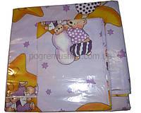 Постельное белье три предмета - Фиолетовый