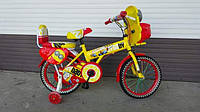 """Детский велосипед """"Миньоны"""" 16 дюймов"""