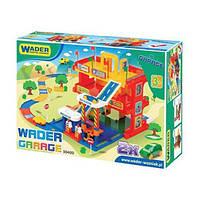 Гараж с дорогой Wader 50400 серии Kid Cars 3D