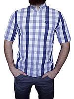 Мужская рубашка Fred Perry Оригинал (сток, б/у) фред пери, original, с коротким рукавом
