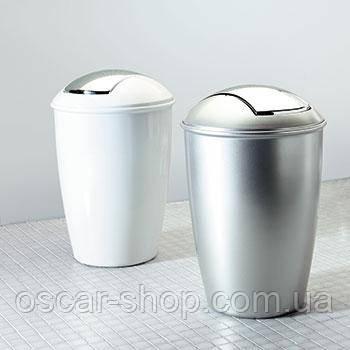 Ведро для мусора Spirella ATLANTA белое, бежевое, серое