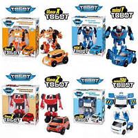 Трансформер робот Тобот мини, Tobot 9 героев
