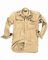 Рубашка с длинным рукавом тропическая RipStop KHAKI