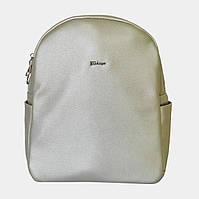 Сумка-рюкзак жіноча срібна / Сумка-рюкзак женская серебряная