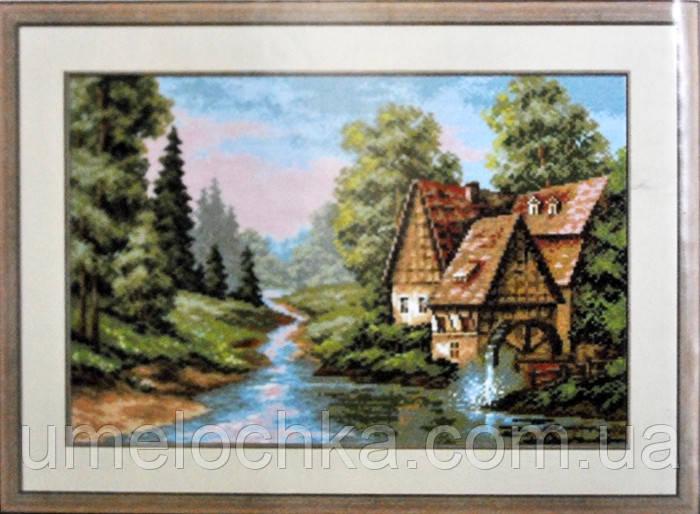 Набор для творчества со стразами Лесной ручеек Артикул: 198627 Размер: 50*40 см