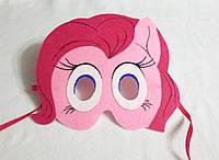 Карнавальная маска Пони Пинки Пай для сюжетно ролевых детских игр Пони: дружба это чудо.
