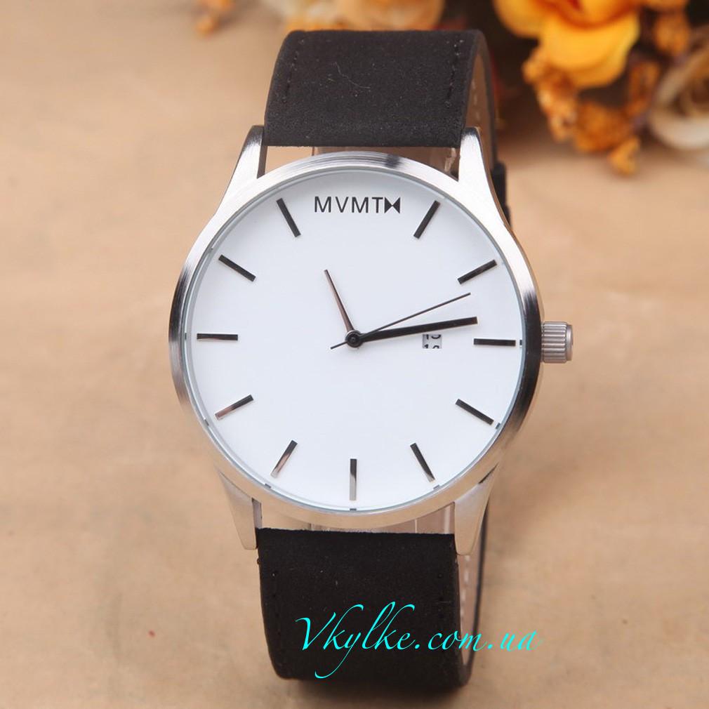 Годинник MVMT чорні з білим