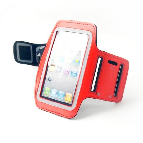 Спорт чехол на руку для iPhone 5 Red