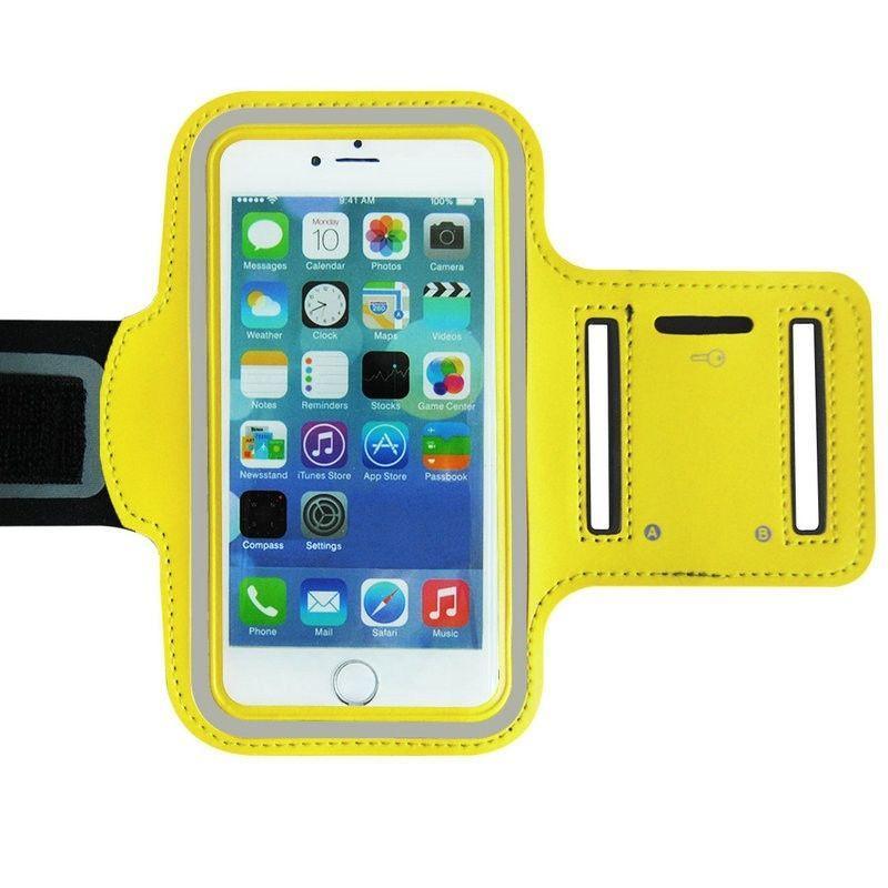 Спорт чехол на руку для iPhone 5 Yellow