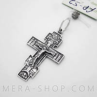Крест нательный из серебра (52)