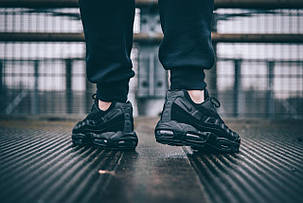 "Кроссовки Nike Air Max 95 OG ""All Black"", фото 2"
