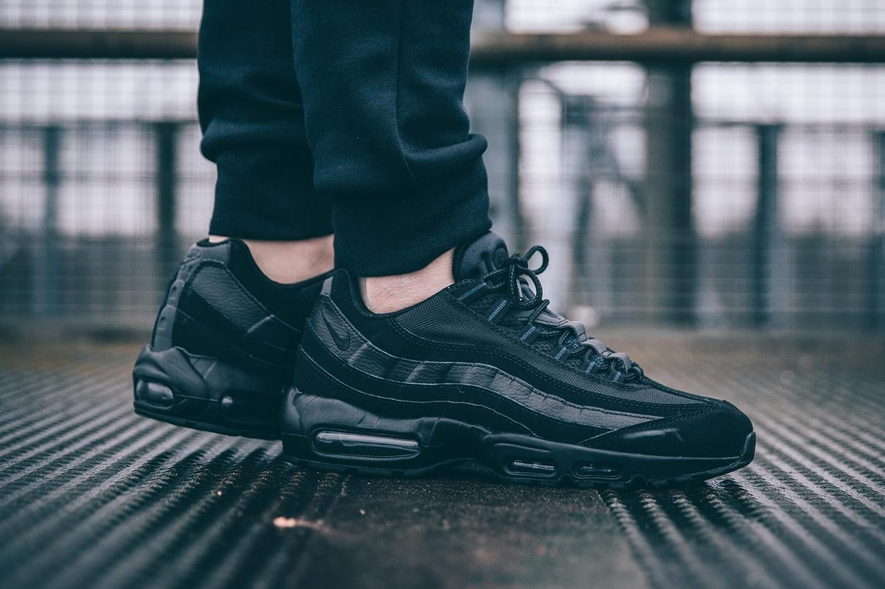 "Кроссовки Nike Air Max 95 OG ""All Black"""