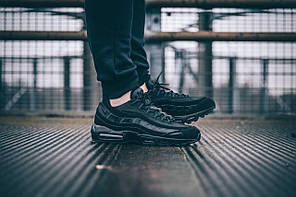 "Кроссовки Nike Air Max 95 OG ""All Black"", фото 3"