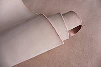 Прямоугольные куски из шлифованной кожи растительного дубления, бежевого цвета, толщиной 2.0 мм., арт. СК 3512
